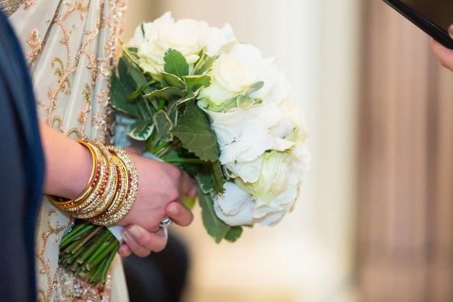 Wedding ceremony at The Berkeley Hotel, Knightsbridge