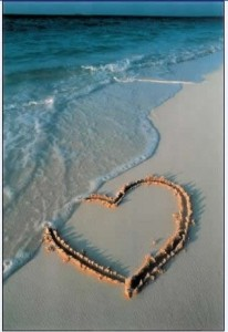 Start with memories - maybe you had a romantic beach holiday