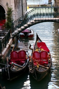 What could be more romantic than a gondola ride through Venice's famous canals?