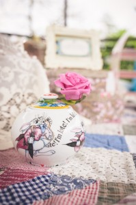 We couldn't have an Alice In Wonderland themed proposal without the white rabbit!