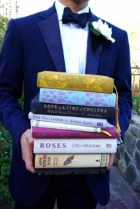 We would fill the proposal spots with books containing the world's greatest love stories.