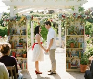 Imagine proposing surrounded by her favorite books? The Proposers could create your own personal book shelf