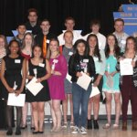 Lamar High School Recognizes NHS Members for 2016