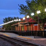Lamar Train Depot Listed in the National Register of Historic Places