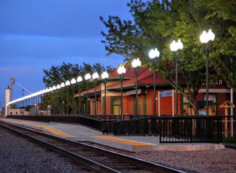 Lamar Amtrak Depot