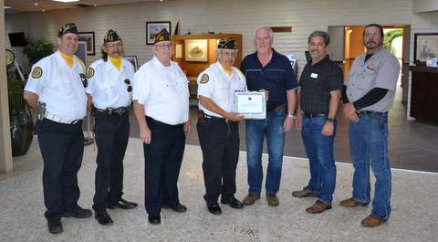 L to R: Rory O'Neil, Ernest Ramos, Don Peters, Jesse Herrera, Doug Thrall, Kirk Crespin and Ron Cook