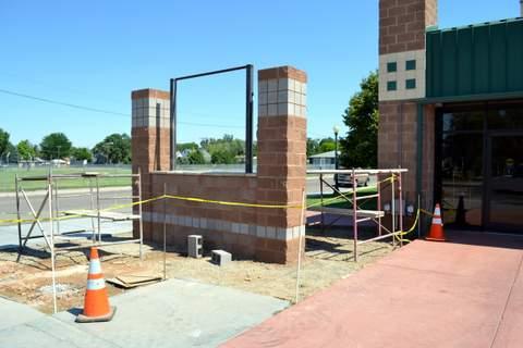 Under Construction at Lamar Community Building