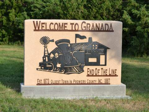 Granada Welcome Sign