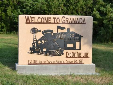 Granada Welcome Sign