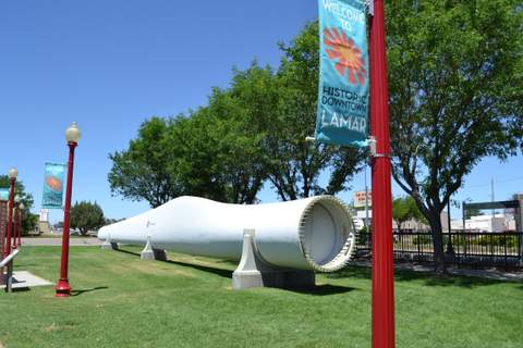 Unique Display of Wind Power at Welcome Center