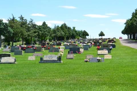 Veteran's Section at Fairmount Cemetery