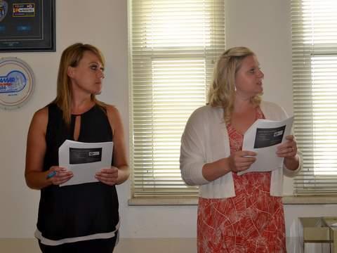 Nurses Wollert and Bennett Address the Lamar City Council