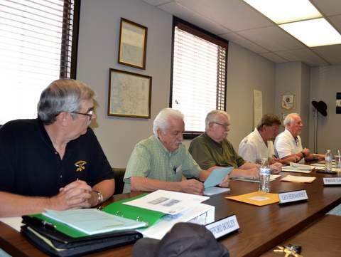 LUB Board Members: Boxley, Hernandez, Leonard, Horning, Thrall