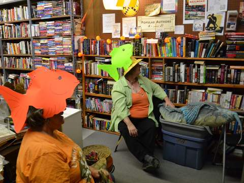 Still Looking for Dory at the Book Depot
