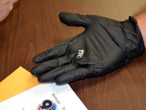 Sample of Black Tar Heroin