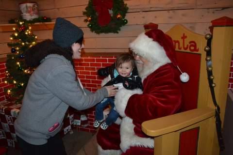 """Santa, This is Zoey, Zoey, Meet Santa"""