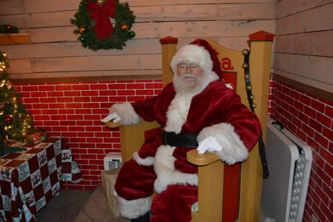 Santa in His Workshop at the Enchanted Forest