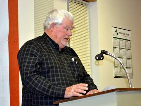 Ed Jones Addresses City Council