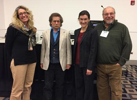 Historians Kelly Emick, John Carson, Annessa Stagner and Paul Hutton