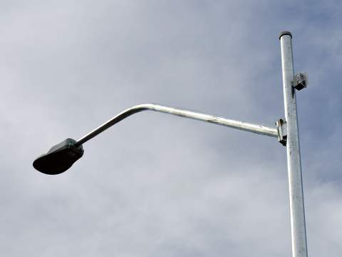New LED Lights Will Be Mounted on Sidewalk