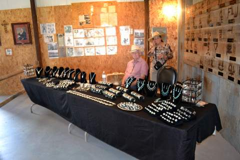 Vendors Displaying their Unique Merchandise