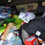 Good Turnout for Toys for Tots Donations at Local Warmart Stores