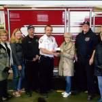 Sorosis Donates to Lamar Fire and Ambulance