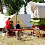 Encampment and Caravan Highlight Santa Fe Trail Weekend at Bent's Old Fort
