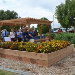 LCC Ribbon Cutting Held for Learning Garden Dedication