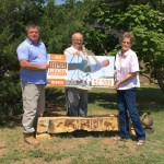 Colorado Association of Conservation Districts Present Award from D&D Farm Products from Prowers County