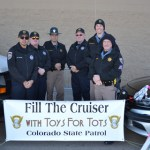 Colorado State Patrol Helps with the Tradition of Donations