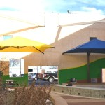 Shore Arts Pocket Park Project Completed with New Shade Structures