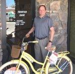 Webster Wins Frontier Bank Bike