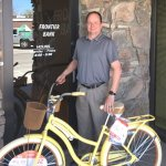 Webster Wins Frontier Bank Bike