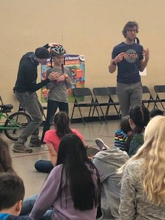 Bicycle Colorado Instructs Students on Bike Techniques