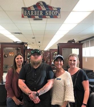 Lamar Honkers Visit Beards and Balayage