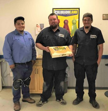 Donut Friday at Coloradoland Tire and Service