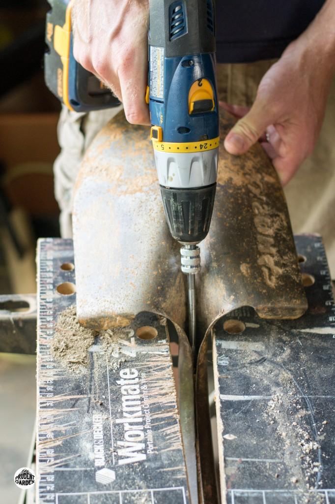 Replacing Handles on Garden Tools Part II