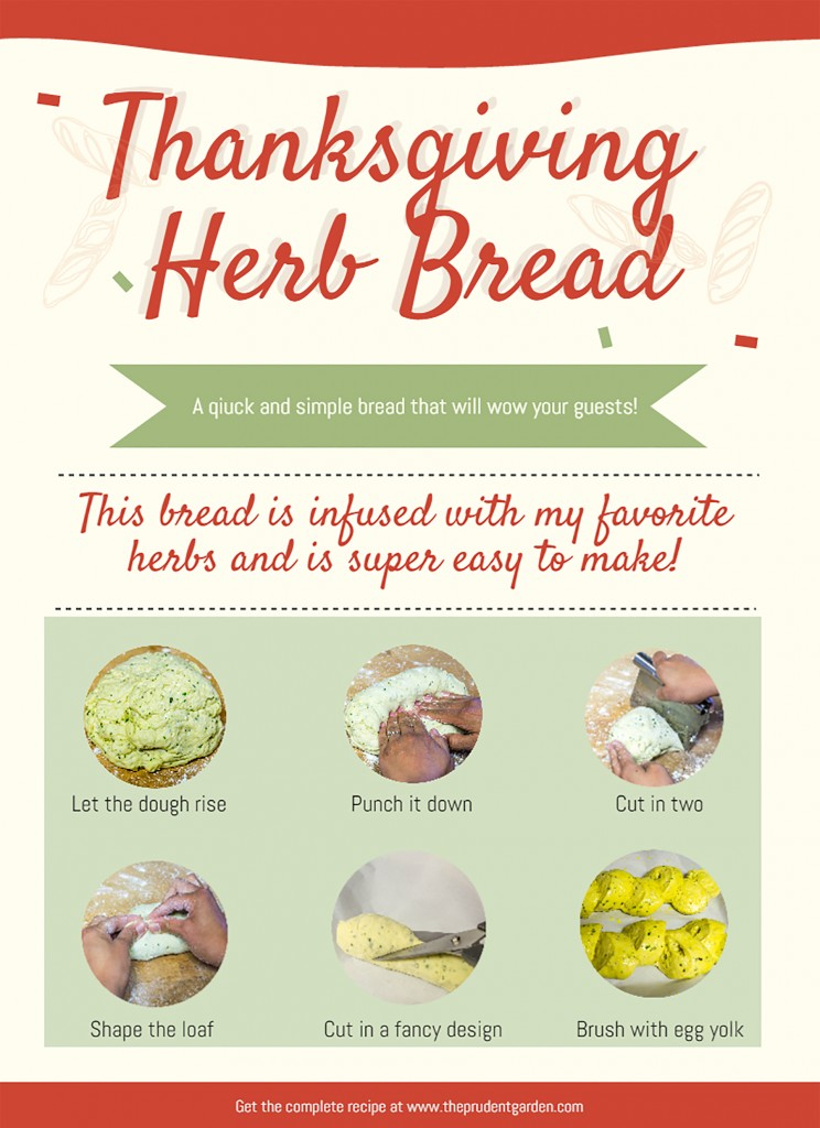 Easy Thanksgiving Herb Bread