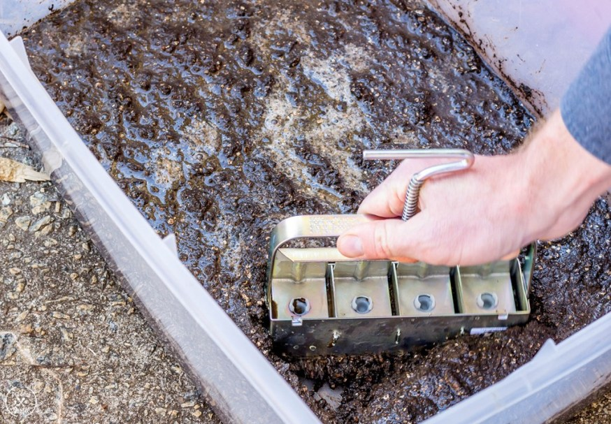 How to Use a Soil Blocker and DIY Soil Mix