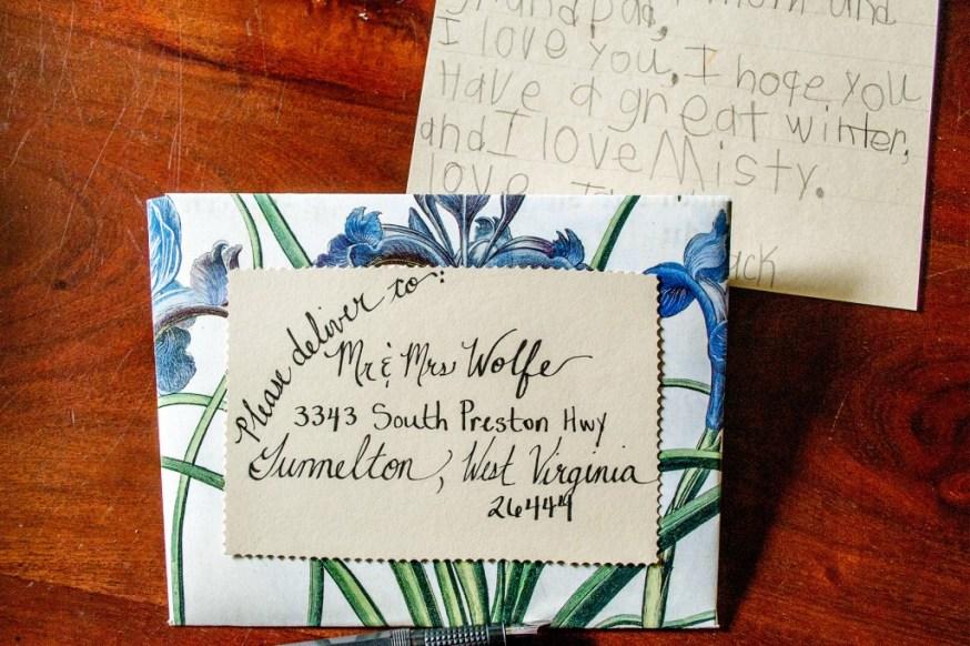 DIY Botanical Print Envelope