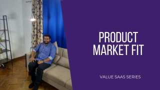 Subho Halder on Finding Product Market Fit
