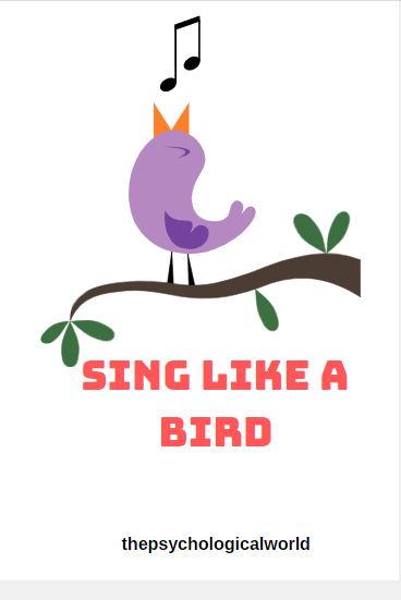Sing like a bird!