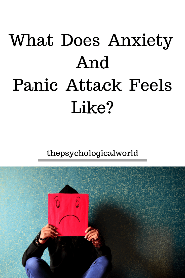 What Does Anxiety And Panic Attack Feels Like_