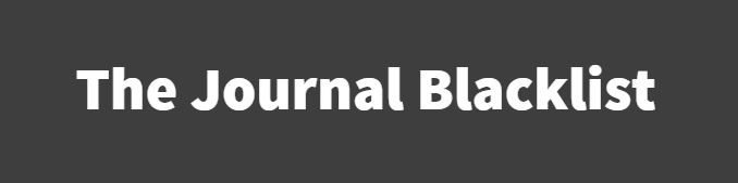 Cabells predatory journal blacklist