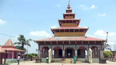 सप्तरीको कंकालिनी मन्दिरमा ७ सय ४४ राँगाको बलि
