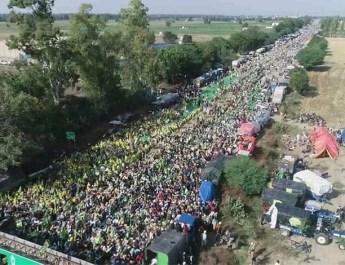 किसानों ने केंद्र का प्रस्ताव स्वीकारा , 32 संगठनों के प्रतिनिधि आज बैठक में होंगे शामिल, भीम आर्मी भी प्रदर्शन में शामिल