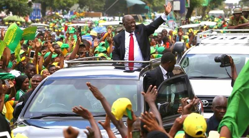President John Magufuli was elected in 2015 for his first term and has not indicated whether he will seek re-election in 2020