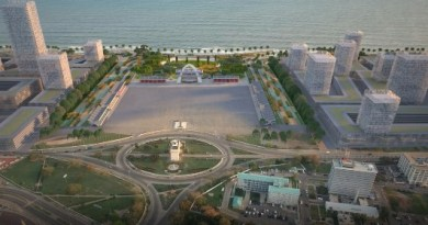An artistic design of Marine Drive Project