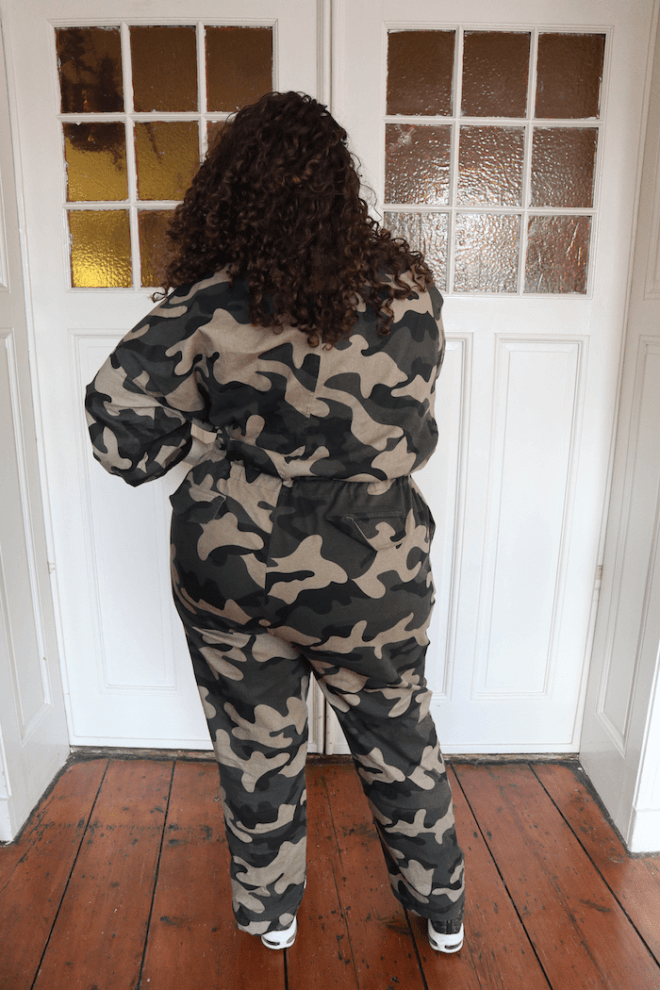Fashion Nova Curve - Obeying Orders Jumpsuit - Mayra Louise